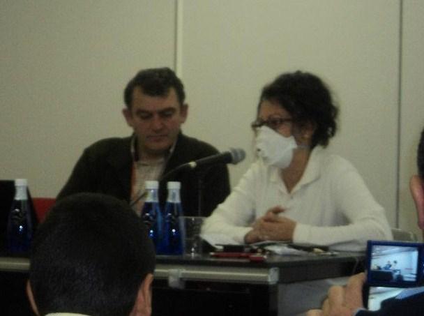 Un momento de la intervención de Consuelo Cañada (Foto: SFC Madrid)